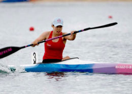 Emma Thomson - Australian Canoe Sprint Junior Team