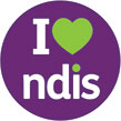 I love the NDIS logo
